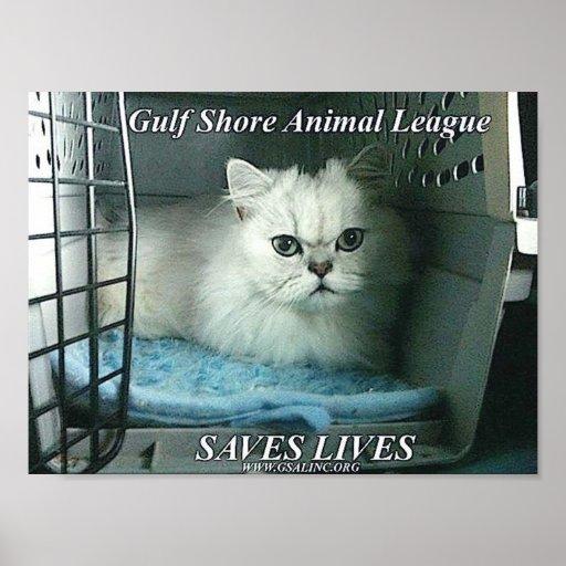GSAL SAVES LIVES Poster
