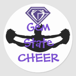 GSGA Cheer Sticker