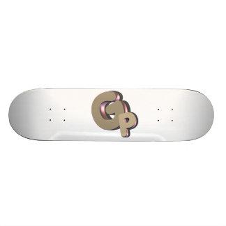 GSN GODPLAYS skateboard logo