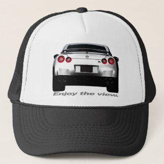 "GT-R ""Enjoy the view."" Trucker Hat"