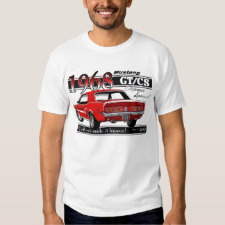 GTCS 1968 Mustang - double sided Tees