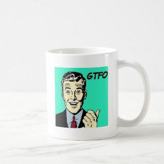 GTFO Guy Mug