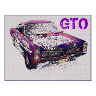 GTO Diner Art Print