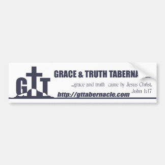 GTT Bumper Sticker