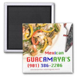 Guacamaya's Mexican Restaurant Promo Magnet