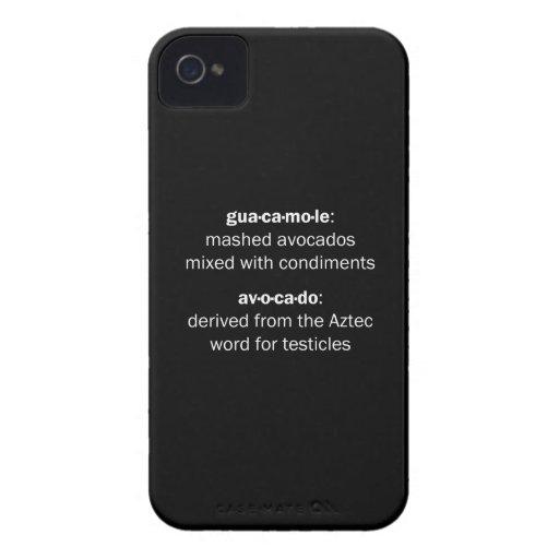 Guacamole Testicles Blackberry Bold Cover