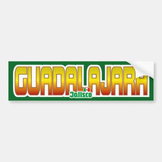 Guadalajara Bumper Bumper Sticker