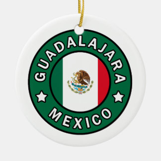 Guadalajara Mexico Ceramic Ornament