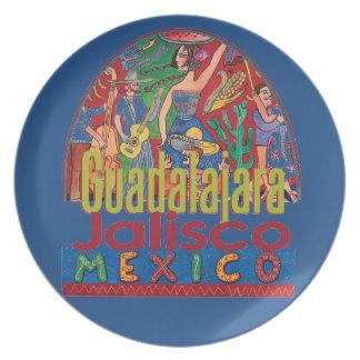 GUADALAJARA Mexico Plate