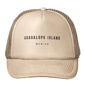 Guadalupe Island Mexico Trucker Hat