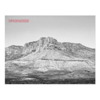 Guadalupe Mountains National Park Resistance Postcard