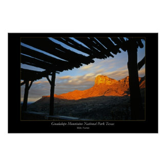 Guadalupe Mountains National Park Texas Poster