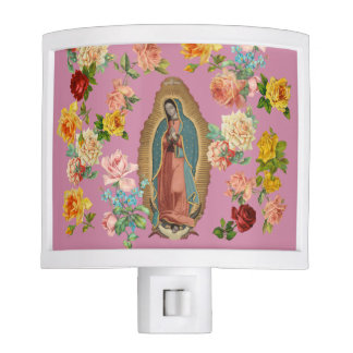 Guadalupe Night Light (pink)