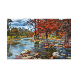 Guadalupe River Canvas Print