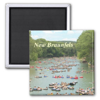 Guadalupe River  New Braunfels kitchen magnet