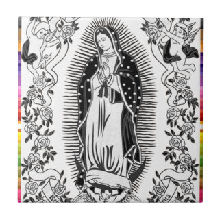 GUADALUPE VIRGIN MEXICO 10  CUSTOMIZABLE PRODUCTS TILE