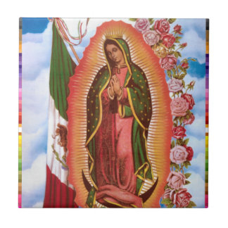 GUADALUPE VIRGIN  MEXICO 22 CUSTOMIZABLE PRODUCTS TILE