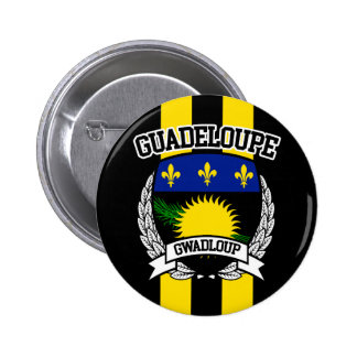 Guadeloupe 2 Inch Round Button