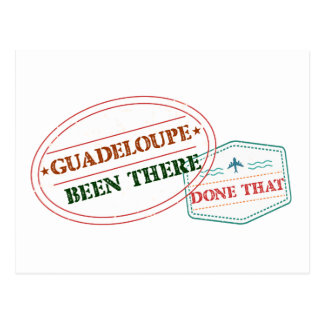 Guadeloupe Been There Done That Postcard