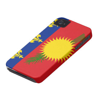 Guadeloupe Flag iPhone 4 Case