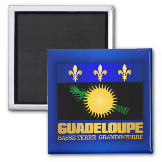 Guadeloupe Flag Magnet