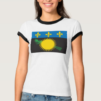 Guadeloupe Flag T-shirt