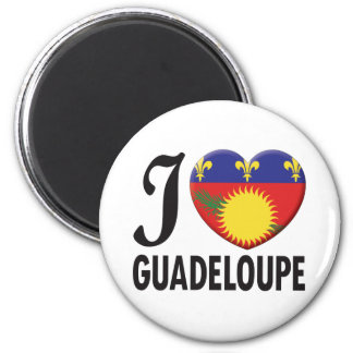 Guadeloupe Love Magnet