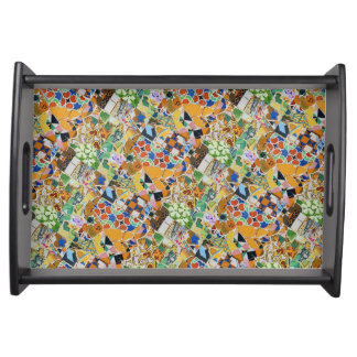 Guadi Mosaic Serving Tray
