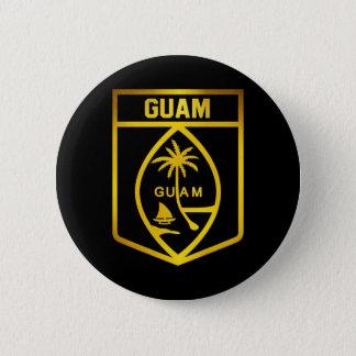 Guam Emblem 2 Inch Round Button