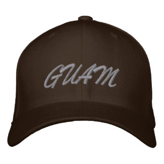 GUAM EMBROIDERED HAT