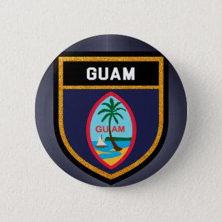 Guam Flag 2 Inch Round Button