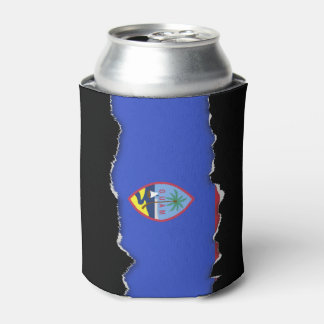 Guam Flag Can Cooler