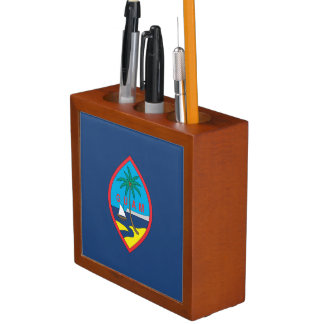 GUAM FLAG DESK ORGANIZER