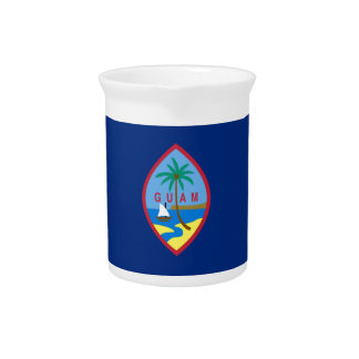 Guam Flag Drink Pitcher