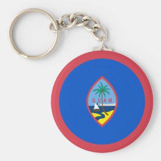 Guam Flag Keychain