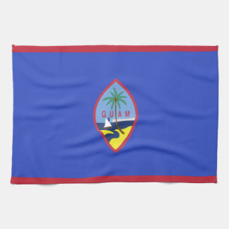 Guam Flag Kitchen Towel