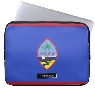 Guam Flag Laptop Computer Sleeves