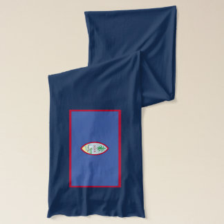 Guam Flag Lightweight Scarf