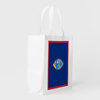 Guam Flag Reusable Grocery Bag