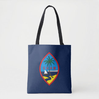 Guam Flag Tote Bag