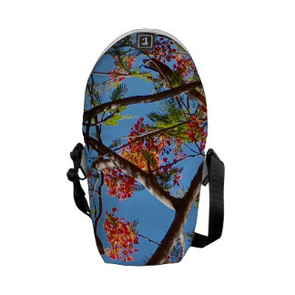 Guam Flame Tree Messenger Bag