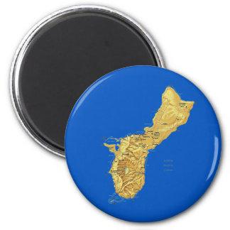 Guam Map Magnet