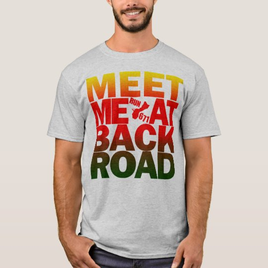 GUAM RUN 671 Back Road T-Shirt