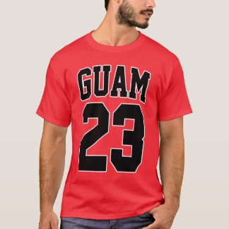 GUAM RUN 671 Basketball Superstar 23 T-Shirt