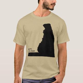 GUAM RUN 671 Bear Rock T-Shirt