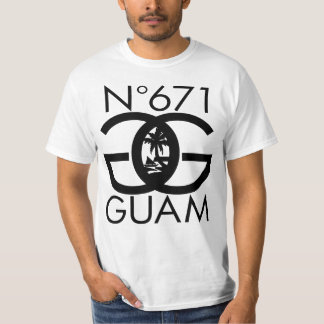 GUAM RUN 671 Number Seal T-Shirt
