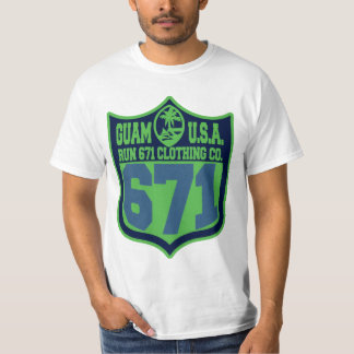 GUAM RUN 671 Seattlecity Playoff T-Shirt