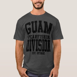 GUAM RUN 671 Spearfishing Division T-Shirt