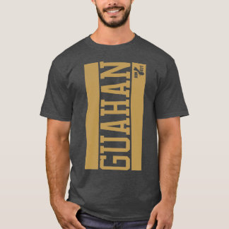 GUAM RUN 671 Vertical Bars T-Shirt
