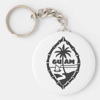 Guam-Seal key chain